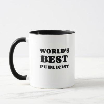 WORLD'S BEST PUBLICIST MUG