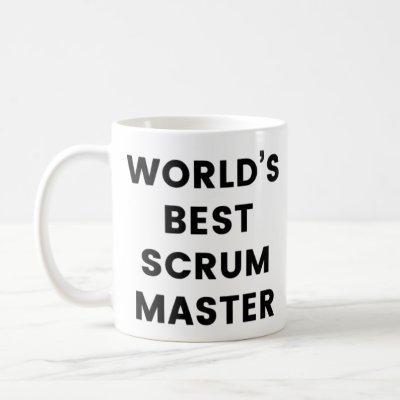 World's Best Scrum Master Coffee Mug