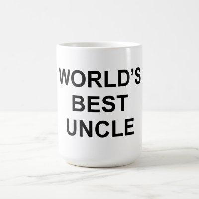 World's Best Uncle Coffee Mug