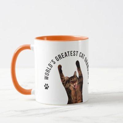 World's Greatest Cat Grandma Mug