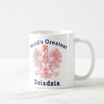 World's Greatest Dziadzia Eagle Coffee Mug