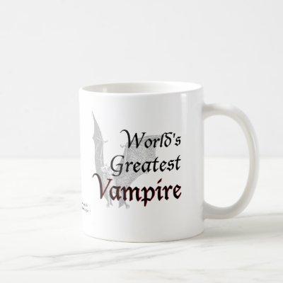 World's Greatest Vampire Coffee Mug