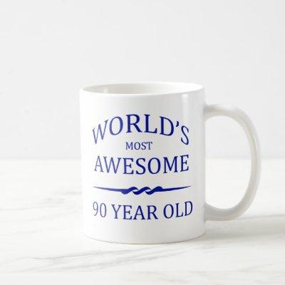 World's Most Awesome 90 Year Old Coffee Mug