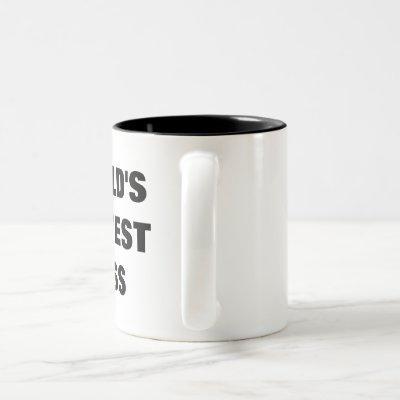 World's Okayest Boss Two-Tone Coffee Mug