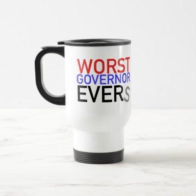 Worst Governor Evers Travel Mug