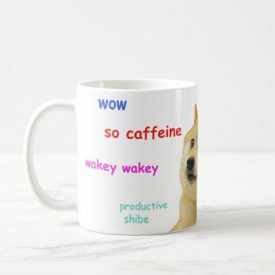 wow such shibe doge mug