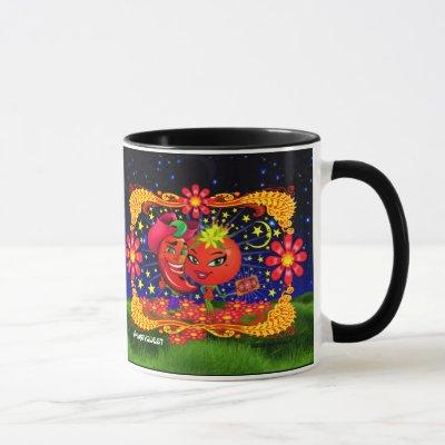 WQ Saucy Tomato and Scott Hot Pepper Mug Cup