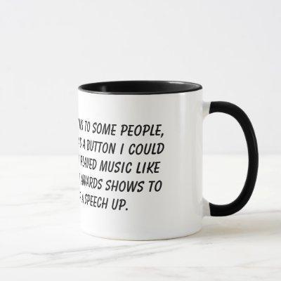 """""""Wrap It Up"""" mug"""