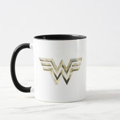 WW84 | Golden Wonder Woman Logo Mug