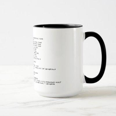 "x86 Assembly ""Amount of Coffee"" Mug"