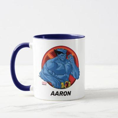 X-Men | Beast Character Badge Mug