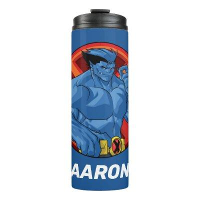 X-Men | Beast Character Badge Thermal Tumbler