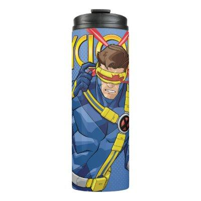 X-Men | Cyclops Character Art Thermal Tumbler