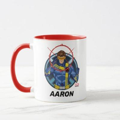 X-Men | Cyclops Character Badge Mug