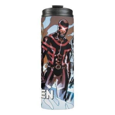 X-Men | Emma Frost, Cyclops, Magneto, & Magik Thermal Tumbler