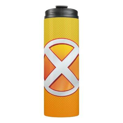 X-Men | Gold and White X Icon Thermal Tumbler