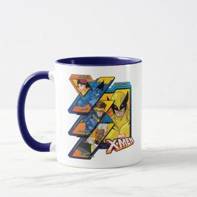 X-Men | Hi-Tech Team Badge Mug