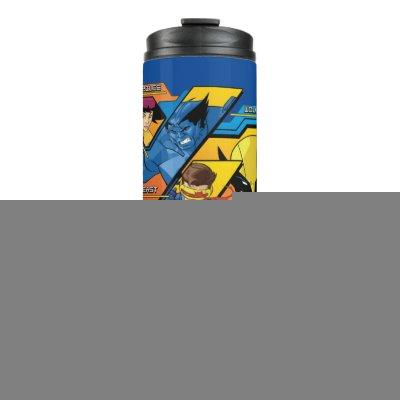 X-Men | Hi-Tech Team Badge Thermal Tumbler
