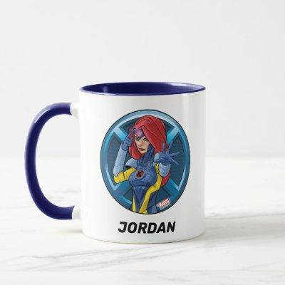 X-Men | Jean Grey Character Badge Mug