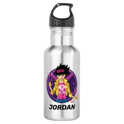 X-Men | Jubilee Character Badge Stainless Steel Water Bottle