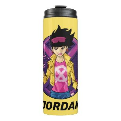 X-Men | Jubilee Character Badge Thermal Tumbler