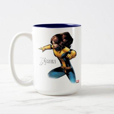 X-Men | Kitty Pryde Phasing Two-Tone Coffee Mug