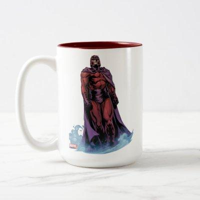 X-Men | Magneto Walking Through Fog Two-Tone Coffee Mug