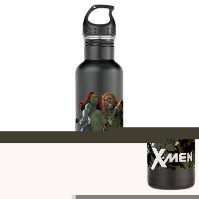 X-Men | Mystique & Sabretooth Stainless Steel Water Bottle
