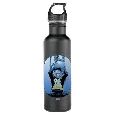 X-Men   Professor Xavier Using Cerebro Stainless Steel Water Bottle