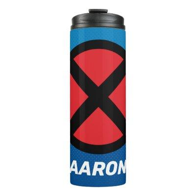 X-Men | Red and Black X Icon Thermal Tumbler