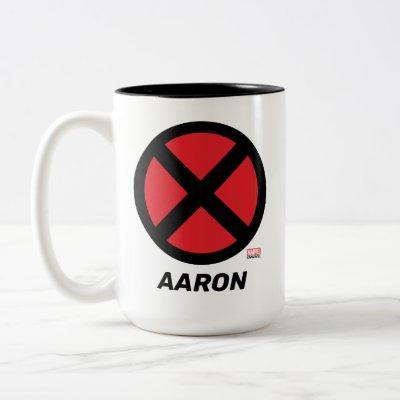 X-Men | Red and Black X Icon Two-Tone Coffee Mug