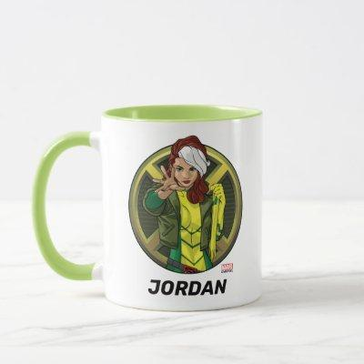 X-Men | Rogue Character Badge Mug