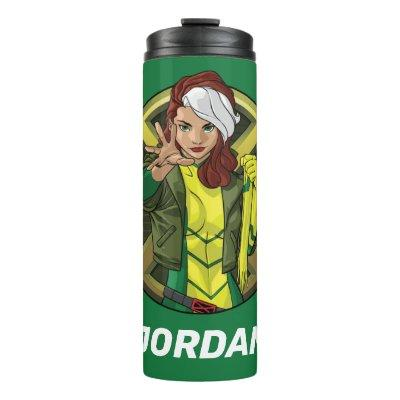 X-Men | Rogue Character Badge Thermal Tumbler