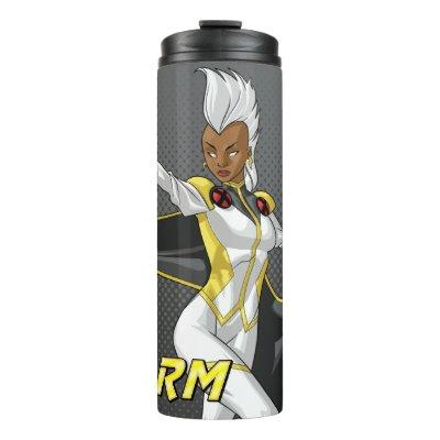 X-Men | Storm Throwing Lightning Thermal Tumbler