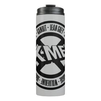 X-Men | Team Member Names Badge Thermal Tumbler
