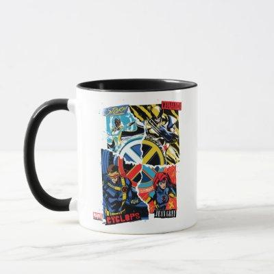 X-Men | Team Punk Logo Graphic Mug
