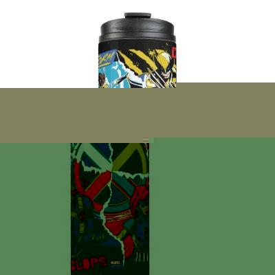 X-Men | Team Punk Logo Graphic Thermal Tumbler