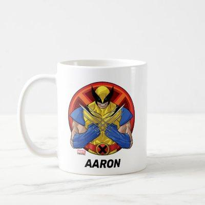 X-Men | Wolverine Character Badge Coffee Mug