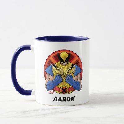X-Men | Wolverine Character Badge Mug