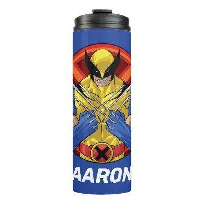 X-Men | Wolverine Character Badge Thermal Tumbler