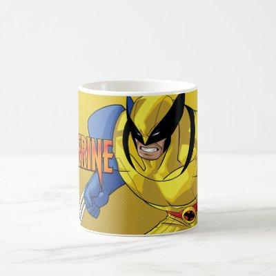 X-Men | Wolverine Running Into A Fight Coffee Mug