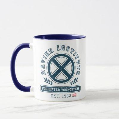 X-Men | Worn Xavier Institute Collegiate Graphic Mug