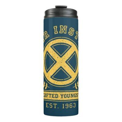 X-Men | Worn Xavier Institute Collegiate Graphic Thermal Tumbler