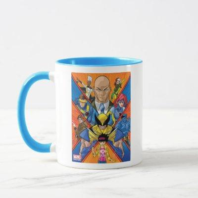 X-Men | X Themed Group Collage Mug