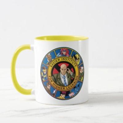 X-Men | Xavier Institute Class Badge Mug