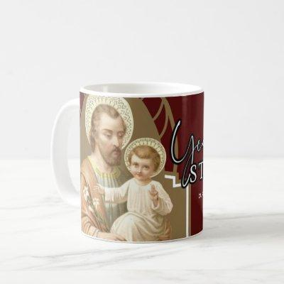 Year of St. Joseph Catholic Religious Commemorate Coffee Mug