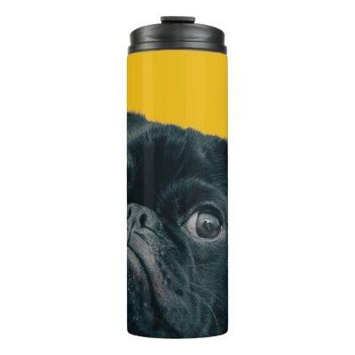 yellow dog thermal tumbler