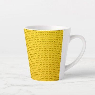 yellow yellow yellow latte mug