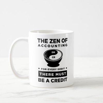 Yin Yang Accounting Mug The Zen Of Accounting