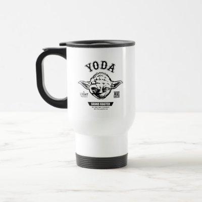 Yoda Grand Master Emblem Travel Mug